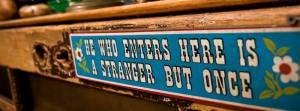 Less A Stranger