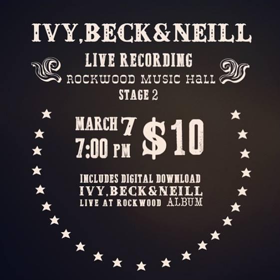 IvyBeckNeill Poster